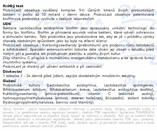 ProbioLact 30 tobolek