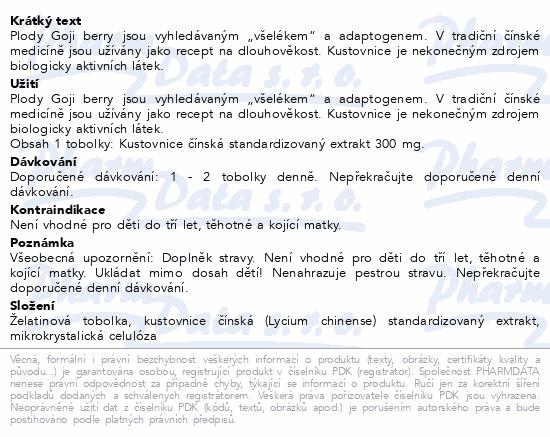 TOPVET - Kustovnice čínská bylinný extrakt tob.60