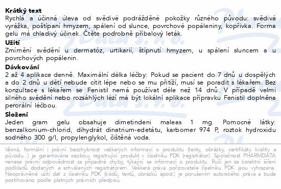 Fenistil 1 mg-g gel 1x30 g CZ
