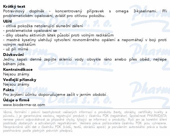 BIODERMA Photoderm BRONZ Oral 30 kapslí