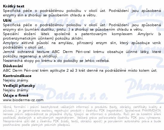 BIODERMA ABCDerm Péri-oral 40 ml