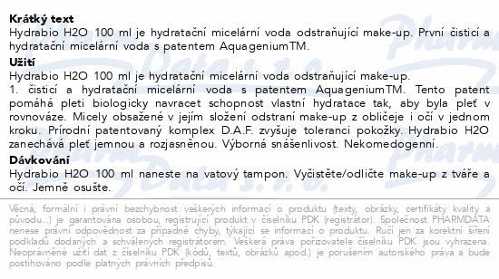 BIODERMA Hydrabio H2O 100ml