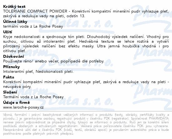 LA ROCHE-POSAY Tolereriane Teint Compact 13 9.5g