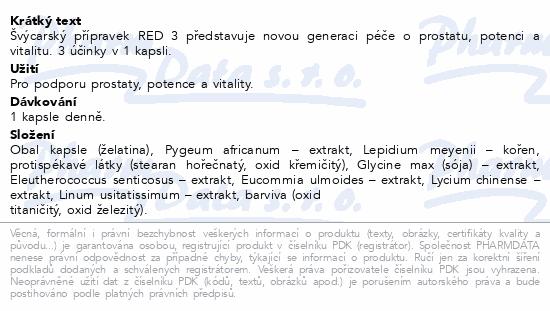 Cemio RED3 cps.90+15 dárek 2020 ČR