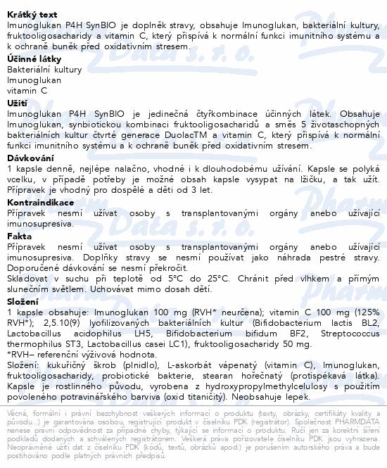 Imunoglukan P4H SynBIO 70 kapslí