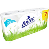 Toaletní papír LINTEO CLASSIC 2-vrstvý bílý 8 rolí