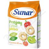 Sunárek dětský snack jablkové prstýnky 50g
