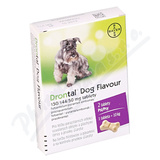 Drontal Dog Flavour 150-144-50mg psy tbl.2