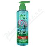 Aloe Vera 97% chladivý gel po opalování 250ml
