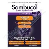 SAMBUCOL Immuno Forte + vitamin C + zinek tob.30