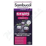 SAMBUCOL Pro Děti + vitamin C Sirup 120 ml
