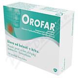 Orofar 1 mg-1mg pas. 24 CZ