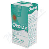 Orofar 2 mg-ml+1.5 mg-ml orm.spr.sol.1x30ml+apl CZ