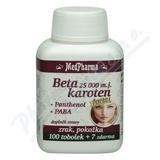 MedPharma Beta karot.25 000 m.j.Pant.+PABA tob.107