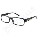 Brýle čtecí +2.00 FLEX černé s kov.doplňkem