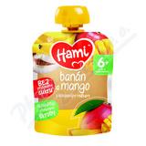Hami příkrm OK Banán a mango s kokos. mlékem 90g