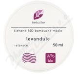Bebutter Šlehané BIO bamb.máslo levandule 50ml