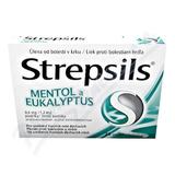 Strepsils Mentol a Eukalyptus 0.6mg-1.2mg pas.24