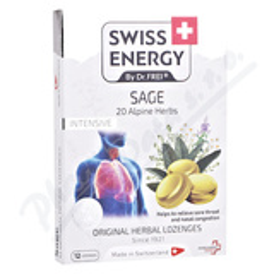 Swiss Energy Šalvěj+20 bylin past.12