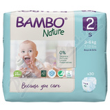Bambo Nature 2 dětské plenkové kalhotky 3-6kg 30ks