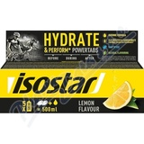 ISOSTAR Powertabs šumivé tablety lemon 10x12g