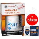 Barnys SIOUX 600g+dárek Ultra-C Imuno Compl.cps.30