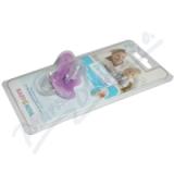 BABY NOVA Dudlík Dentistar č.2 kroužek se zoubky