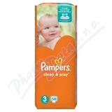 Pampers Sleep&Play 3 Midi 58ks