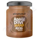 Allnature Arašídové máslo s mléčnou čokoládou 500g