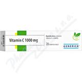 Vitamin C 1000 mg Generica tbl. eff. 20