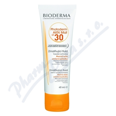 BIODERMA Photoderm AKN Mat Fluid SPF30 40ml