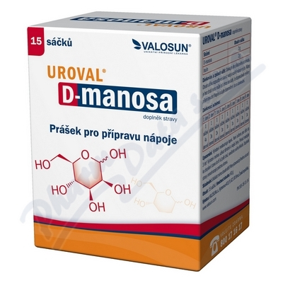 Walmark Uroval D-MANOSA 15 sáčků
