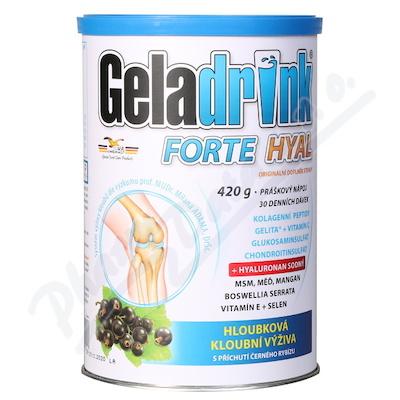 Geladrink FORTE HYAL práško.nápoj černý rybíz 420g