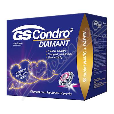 GS Condro DIAMANT tbl.100+50 dárek 2020 ČR-SK