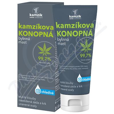 Cemio Kamzíkova konopná mast chladivá 200ml