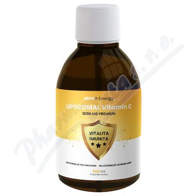 Lipozomální Vitamín C 1000 mg Premium 500 ml