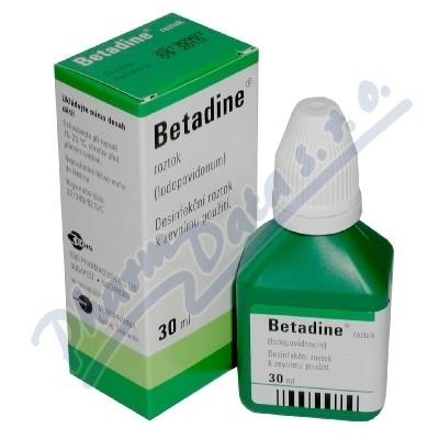 Betadine drm.sol.1x30ml (H) zelený