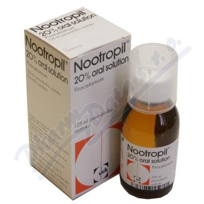 Nootropil 20% Oral Solution por.sol.1x125ml