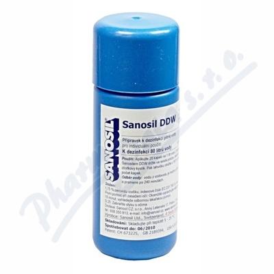 Sanosil DDW dezinfekce pit.vody 80ml-80l vody